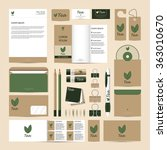 corporate concept identity... | Shutterstock .eps vector #363010670