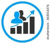 audience growth icon | Shutterstock .eps vector #363016376