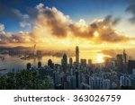 hong kong city | Shutterstock . vector #363026759