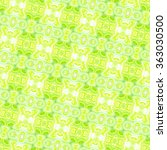 sloping seamless colorful... | Shutterstock . vector #363030500