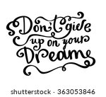 cute hand drawn beautiful card. ... | Shutterstock .eps vector #363053846