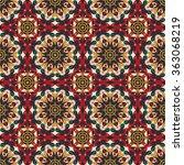 vector seamless pattern.... | Shutterstock .eps vector #363068219