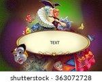 carnival   decorative...   Shutterstock . vector #363072728
