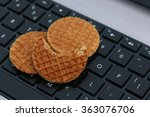 Internet Cookies Concept On A...