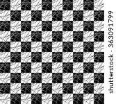 elegant seamless black and... | Shutterstock .eps vector #363091799