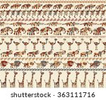 seamless background with... | Shutterstock .eps vector #363111716