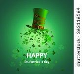 vector illustration  leprechaun ... | Shutterstock .eps vector #363116564