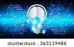 dark blue light abstract... | Shutterstock .eps vector #363119486