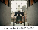 liberty bell and independence... | Shutterstock . vector #363124250