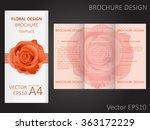 valentine's day or wedding... | Shutterstock .eps vector #363172229