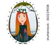 forest fairy   Shutterstock .eps vector #363219038