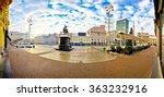 Ban Jelacic Square In Zagreb...