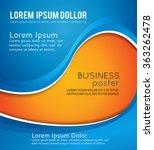 brochure design content... | Shutterstock .eps vector #363262478