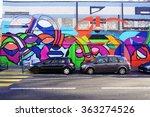 paris  france  24 dec 2015 ... | Shutterstock . vector #363274526