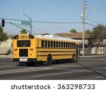 Typical For Usa School Bus In...