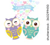 valentine's day card design...   Shutterstock .eps vector #363299450