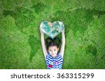 world kindness day  and... | Shutterstock . vector #363315299