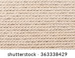 rope as background texture  | Shutterstock . vector #363338429