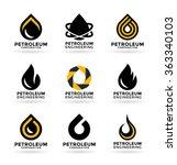 petroleum industry  2  | Shutterstock .eps vector #363340103