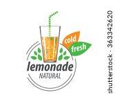 logo for lemonade | Shutterstock .eps vector #363342620