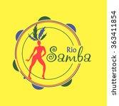 brazilian carnival logo and...   Shutterstock .eps vector #363411854