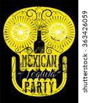 typographic retro grunge... | Shutterstock .eps vector #363426059