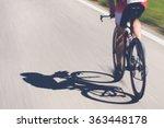 Speedy Shadow   A Cyclist At...