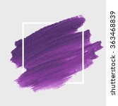original grunge brush paint... | Shutterstock .eps vector #363468839