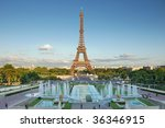 the eiffel tower seen from...