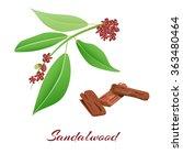 Sandalwood Tree Branch And Bar...