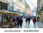 lisbon  portugal   dec 24  2014 ... | Shutterstock . vector #363481484