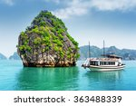 beautiful view of karst isle... | Shutterstock . vector #363488339