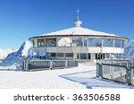 on the top of schilthorn... | Shutterstock . vector #363506588