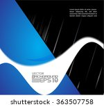 abstract background with circle  | Shutterstock .eps vector #363507758