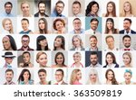 set of various people... | Shutterstock . vector #363509819