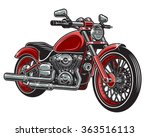 vector illustration of red... | Shutterstock .eps vector #363516113