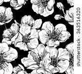 seamless pattern with image of... | Shutterstock .eps vector #363516320