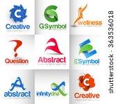 collection of vector logo...   Shutterstock .eps vector #363536018