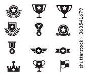 winning icon | Shutterstock .eps vector #363541679