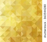 yellow grid mosaic background ... | Shutterstock .eps vector #363544280