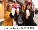 outdoors fashion portrait of...   Shutterstock . vector #363573434