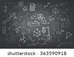 set of chemistry sketches | Shutterstock . vector #363590918