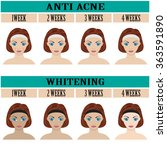 images of before and after... | Shutterstock .eps vector #363591890