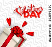 valentine's day party... | Shutterstock .eps vector #363598880