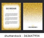 vector illustration of golden... | Shutterstock .eps vector #363647954