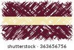 latvian grunge flag. raster... | Shutterstock . vector #363656756