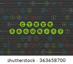 protection concept  cyber... | Shutterstock . vector #363658700