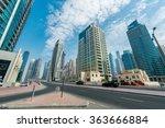 dubai   august 9  2014  dubai... | Shutterstock . vector #363666884