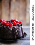 Chocolate Cake With Raspberries ...