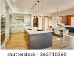 kitchen  dining room  and... | Shutterstock . vector #363710360